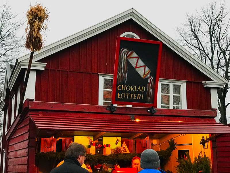 skansen christmas market chocolate
