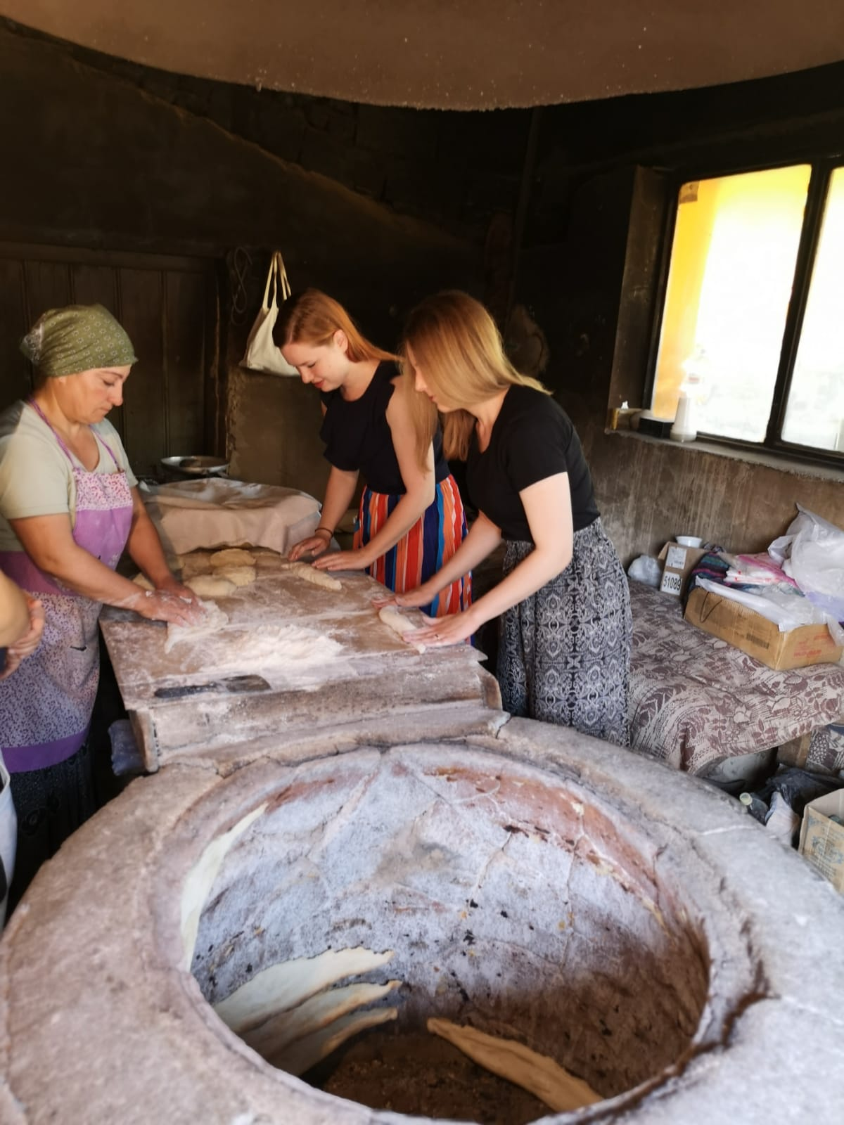 making bread in georgia