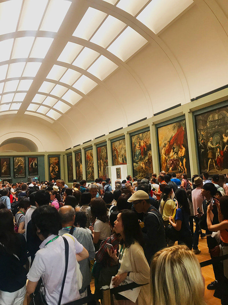 the louvre people