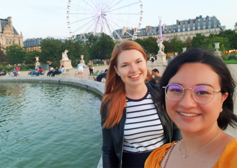 paris wheel friends august